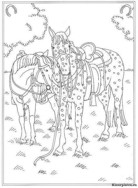 Kleurplaat Paarden Manege by Op De Manege Kleurplaat 734680 Kleurplaat