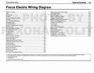 2003 Ford Focus Wiring Diagram Original