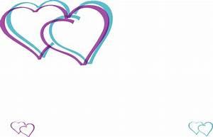 Double Hearts Clip Art at Clker.com - vector clip art ...