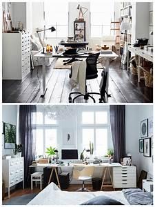 The, Desk, Set, Ikea, Ideas