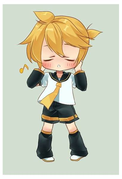Len Kagamine Rin Vocaloid Kawaii Deviantart Miku