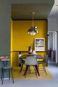 1001 idees de decor en utilisant la couleur gris perle With salle a manger mur gris