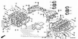 Cylinder Head For 2017 Honda Gl1800