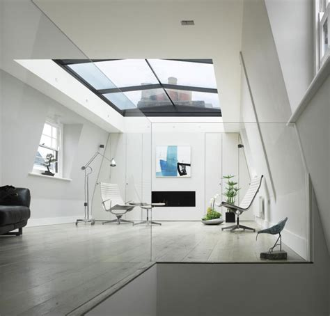 bedroom with glass roof london home with retractable glass roof