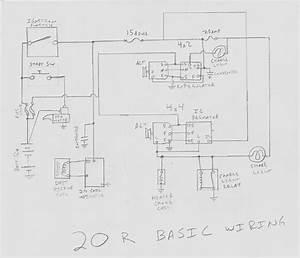 Toyota 22re Alternator Wiring  6