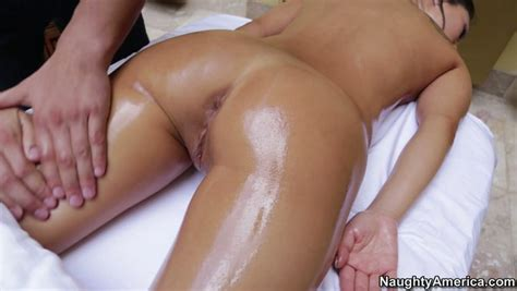 Naked Oil Covered Asa Akira Experiences A Hot Erotic Massage Video