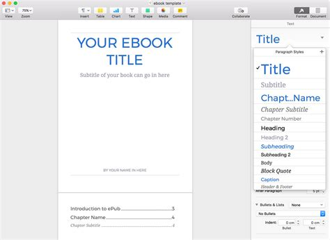 Ebook Template How To Create A Fantastic Ebook In 48 Hours With