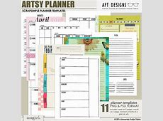 Digital and Hybrid Calendar and Planner templates by