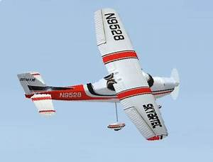 Cessna 182 Avion RC Brushless 6 Voies RTF Modelisme RC