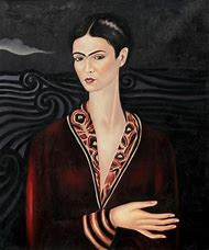 Velvet Dress Frida Kahlo Self-Portraits
