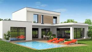constructeur de maison maisons vivre plus constructeur With plan maison avec tour 1 maison contemporaine rhane alpes photos maison