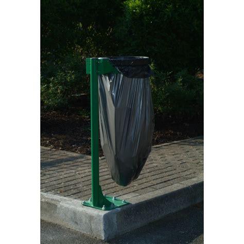 support sac poubelle ext 233 rieur en acier 224 fixer au sol gestion des d 233 chets le raton laveur