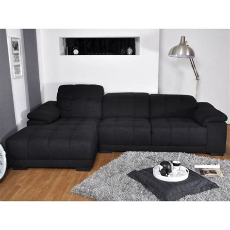 canapé d angle en tissu photos canapé d 39 angle tissu noir