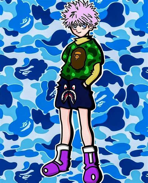 Unarium On Twitter Anime Art Bape Bathingape