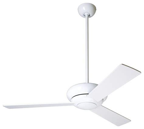 42 quot modern fan altus gloss white modern ceiling fan
