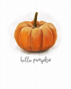 Free  U0026quot Hello Pumpkin U0026quot  Printable