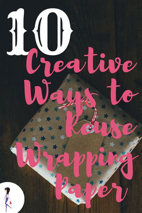 creative ways  reuse wrapping paper  images