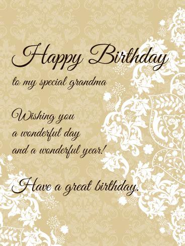 special grandma elegant birthday card birthday