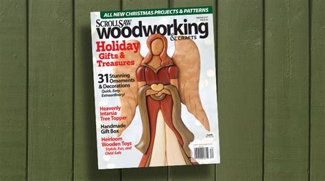 scroll  woodworking crafts winter  issue