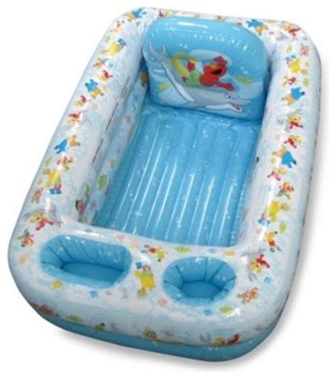 ginsey sesame street inflatable bathtub contemporary
