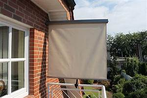balkon seitenmarkise 2 farben lc bali kaufen bei eh mobel With markise balkon mit bio tapeten