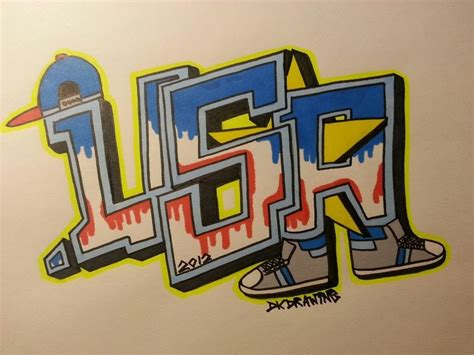 Graffiti Usa : How To Draw Graffiti Letters