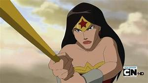 Wonder Woman On Young Justice, For Two Whole Seconds ...