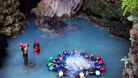 goa pindul menyusuri indahnya sungai bawah tanah