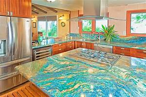166 best blue louise countertops images on pinterest With kitchen colors with white cabinets with van gogh wall art