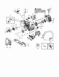 Poulan Model Pp3516 Chainsaw  Gas Genuine Parts