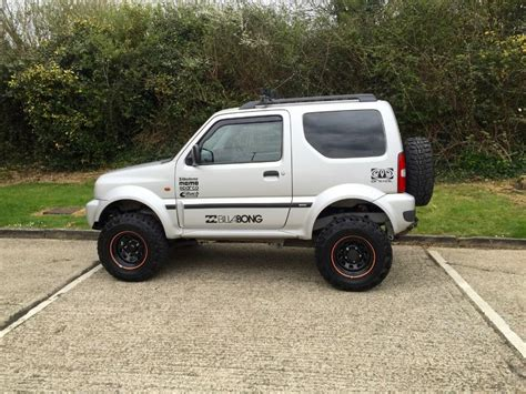 suzuki jimny lifted used 2003 suzuki jimny jlx high body lift kit for sale