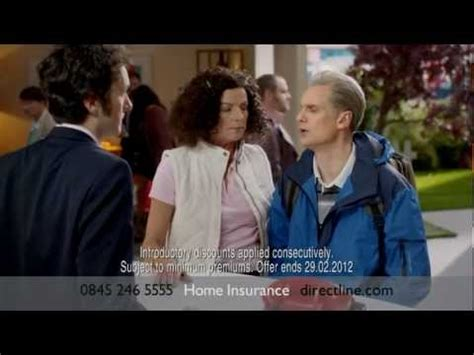 direct  home insurance ad chris