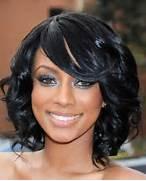 Medium Black Prom Hair...Medium Length Black Curly Haircuts