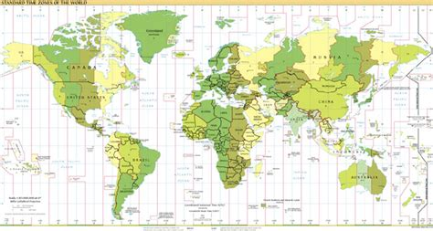Time Zone Map