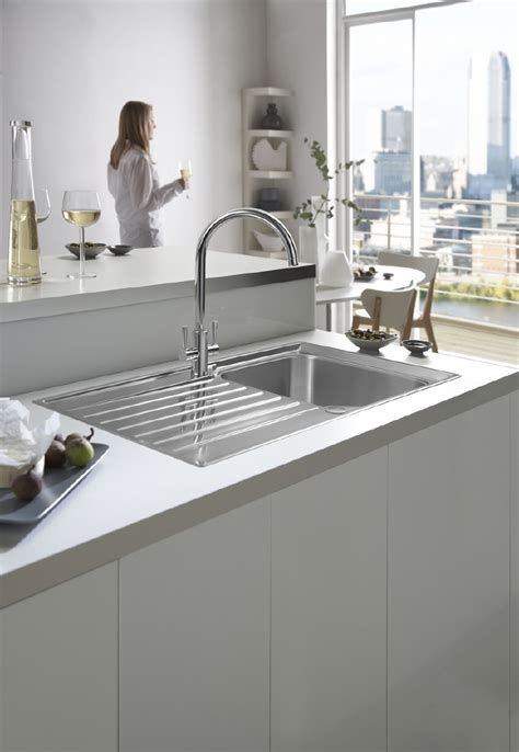 cheap kitchen sinks and taps franke launches the ascona tap with a 163 48 on 8170