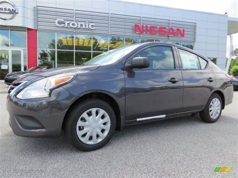 2018 Amethyst Gray Nissan Versa 16 S Plus Sedan 94320555