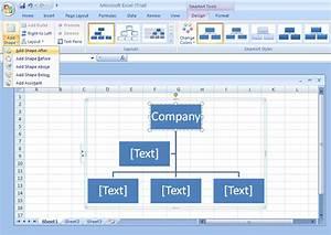 Add A Shape To An Organization Chart Organization Chart