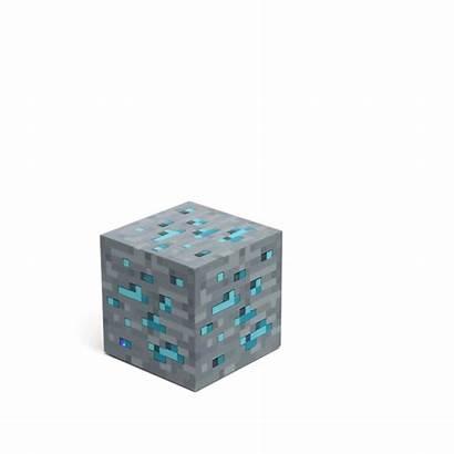 Minecraft Ore Diamond Redstone Nightlight Accessori Stuff