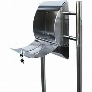 Deutsche Post Briefkasten Kaufen : stand briefkasten edelstahl cm 13660 mayster handel ~ Michelbontemps.com Haus und Dekorationen