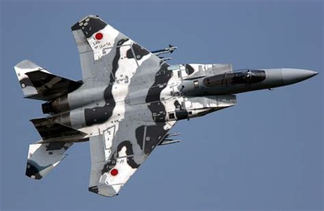 Japanese F15 With A Cool Paint Job Aircraft