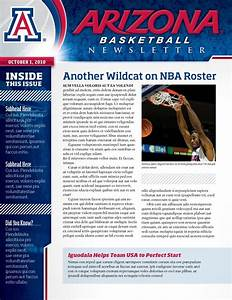 layout by seth rexilius at coroflotcom With team newsletter template