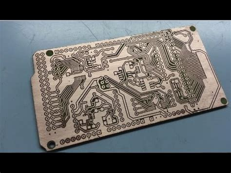 Diy Double Sided Pcb Printed Circuit Board Etching