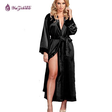 robes de chambre femmes big silk robes for bathrobe satin robe robes