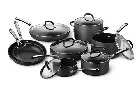 cookware calphalon nonstick pans simply piece pots pot falling sets non stick pan houseware bakeware sliding trinity organizer cabinet stop