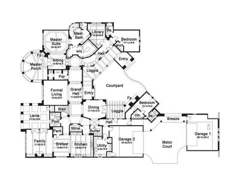 story house plans luxury  bedroom floor