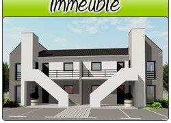 plans d39immeuble plans de maison plans modifiables dwg With plan maison r 1 gratuit 5 plans dimmeuble im02 plans de maison plans