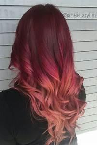 Best 25+ Red ombre ideas on Pinterest | Burgundy hair ...