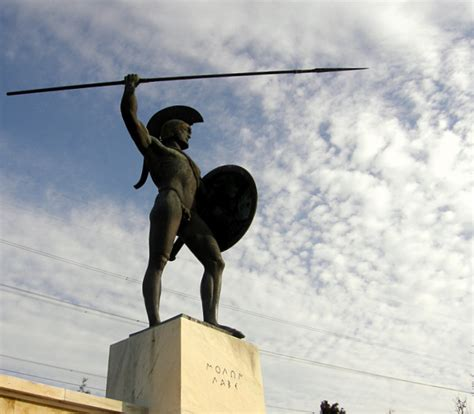 Persiani Popolo by Leonidas The King Of Sparta A Photo From Fthiotida