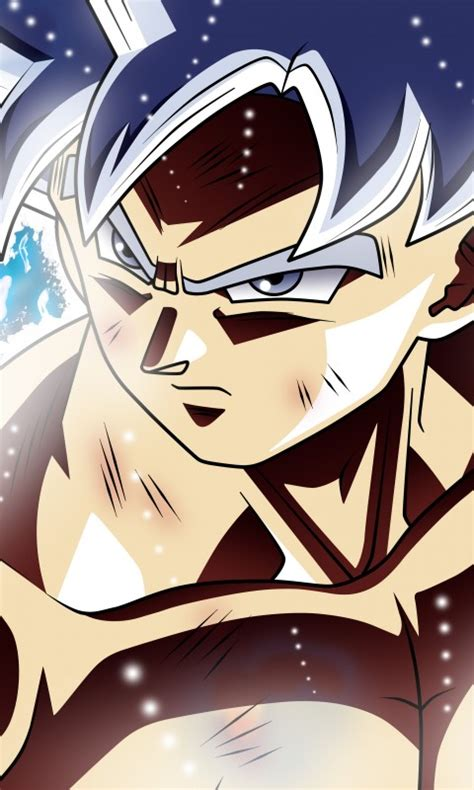 wallpaper ultra instinct goku migatte  gokui dominado