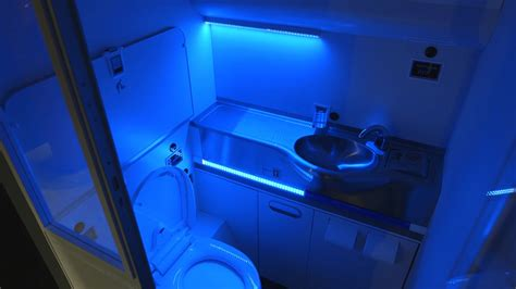 Uv Light Cleaning by Boeing Develops Self Cleaning Airplane Lavatory